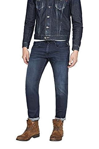Replay Anbass - Jeans - Slim - Homme, Bleu (Blue Denim 7), W38/L32