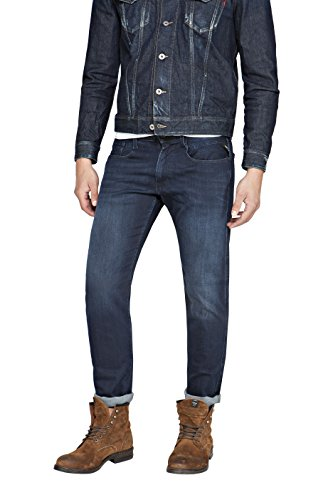 Replay herren slim jeans anbass fc barcelona collection