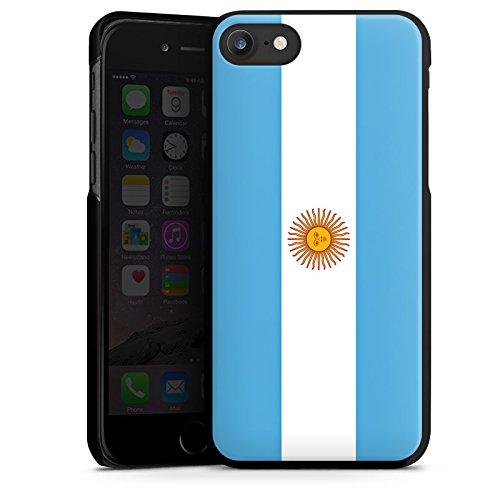 Apple iPhone X Silikon Hülle Case Schutzhülle Argentinien Flagge Argentina Hard Case schwarz