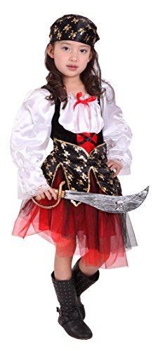EOZY-Cosplay Pirata Principessa Costume da Bambina Travestimento