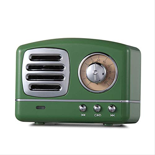 MLACOBD Bluetooth SpeakerAltavoz portátil Bluetooth Retro Mini portátil inalámbrico Bluetooth Altavoz Radio...