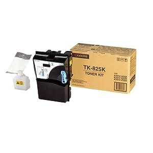 Kyocera TK 825K Cartouche de toner pour KM-C2520-3225-3232 15000 pages Noir