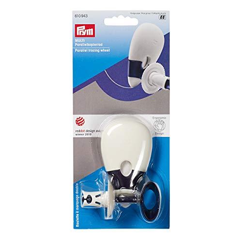Prym Parallelkopierrad Multi Ergonomics, Kunststoff, pflaumenblau, weiß, One Size