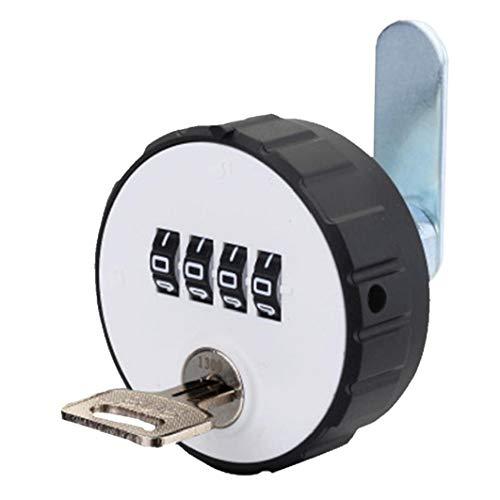 Gabinete Combinación Cerradura De La Leva De 4 Dígitos Sin Llave par