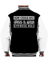 d2b1e597f225c Cypress Hill How I Could Just Kill A Man Song Title Men s Varsity Jacket
