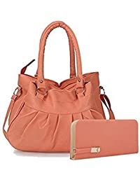 SALEBOX HOBO Leather Hand Bag With Long Belt & Top Handle Ideal For Women & Colleger Casuals