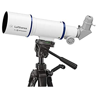 Lufthansa 70/350 Travel Telescope Refractor 70/350 with Tripod, Eyepieces and Amici Prism