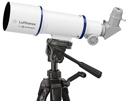 Lufthansa 70/350 - Telescopio da viaggio rifrattore Lufthansa 70/350 con treppiede,...