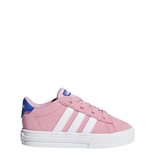 adidas Baby Mädchen Daily 2.0 Sneaker, Pink (Light Pink/Footwear White/Hi-RES Blue), 26 EU (Adidas-klassische Turnschuhe)
