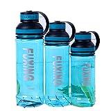 qwdf Coppa Sportiva Portatile Moda all'aperto Coppa Coppia Uomo e Donna Bicchiere di plastica con la Mano