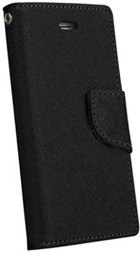 RJR Mercury Goospery Wallet Style Flip Back Case Cover For Sony Xperia C S39H/C2305-Black  available at amazon for Rs.225