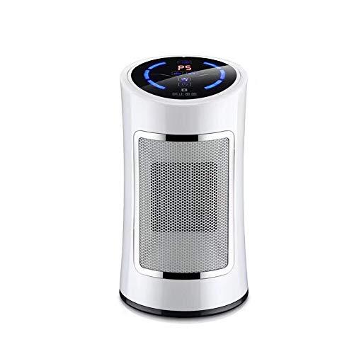 SXYRN 1500W PTC Ceramic Heater, Heizen Und Kühlen Von Zwei Funktionen, Geeignet Für Tische, Schlafzimmer, Büros, Weiß