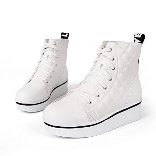 Adee, Damen Stiefel & Stiefeletten Weiß