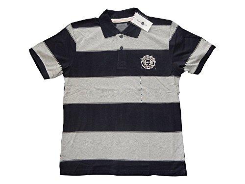 Schiesser Herren Poloshirt 1/2 Arm 137193 Graumeliert