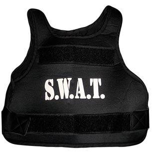 Weste kugelfrei SWAT Kinder