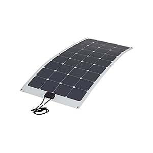 Biard® - Panneau Solaire Photovoltaïque Flexible 100W Back Contact - Chargeur 12V - Câbles et Connecteurs Fournis