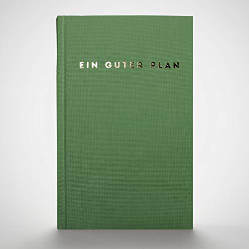 Ein guter Plan 2020: Ganzheitlicher Terminkalender für mehr Achtsamkeit und Selbstliebe | Reflexion + Ziele erreichen | Klimaneutral, Altpapier, vegan (Salbei 2020)