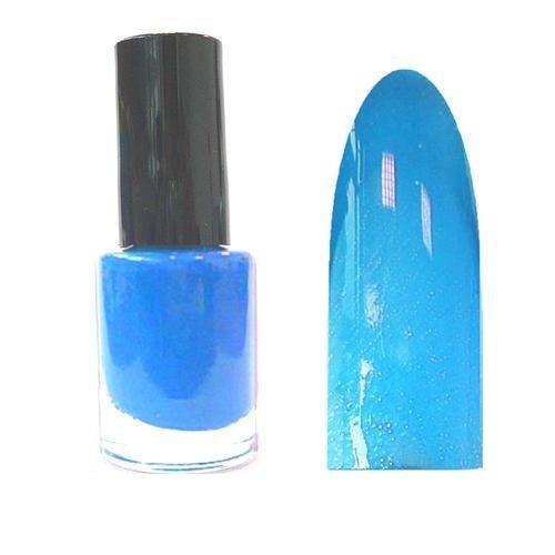 xxl-cosmetic 5ml Thermo Nagellack Thermo Lack Farbwechsel Blau - Hell Blau Metallic TNL-118