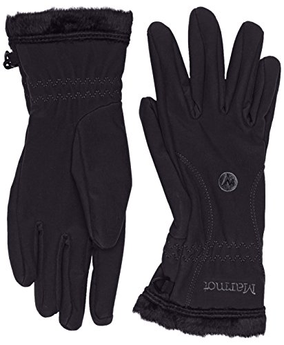 marmot-womens-fuzzy-wuzzy-gloves-black-small