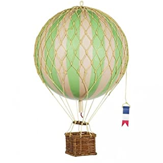 Authentic Models - Dekoballon - Jules Verne - Ballon Grün - 18 cm Durchmesser
