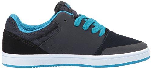 Etnies Marana, Chaussures de Skateboard Mixte enfant Bleu (Navy/black)