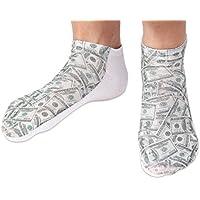 3744e6fd055647 Chaussettes courtes  Socquettess avec motifs Taille  36 - 39 pour femme ou  Ados fille