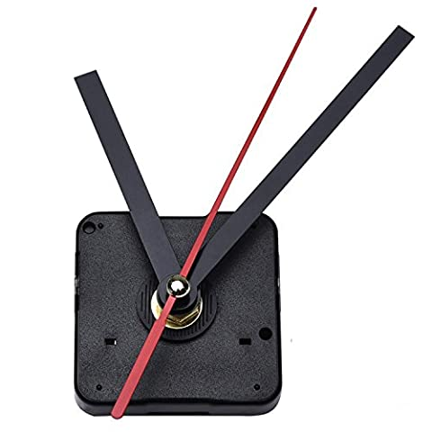 Mudder DIY Quartz Clock Movement Mechanism, 3/ 25 Inch Maximum Dial Thickness, 1/ 2 Inch Total Shaft Length