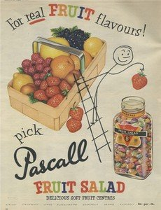mini4336-pascall-fruit-salad-flavour-sweets-retro-metal-hanging-sign-new