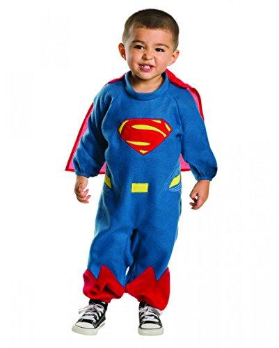 Horror-Shop DC Comic Superheld Superman Babykostüm 12-24 Monate (Coole Kostüme Der Comic Con)