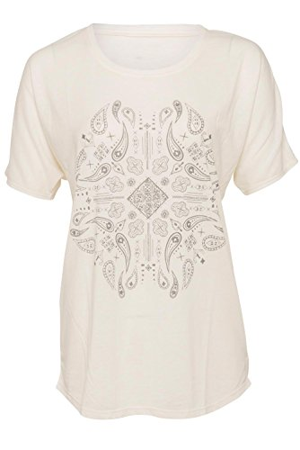 Element Batik T-Shirt Weiß