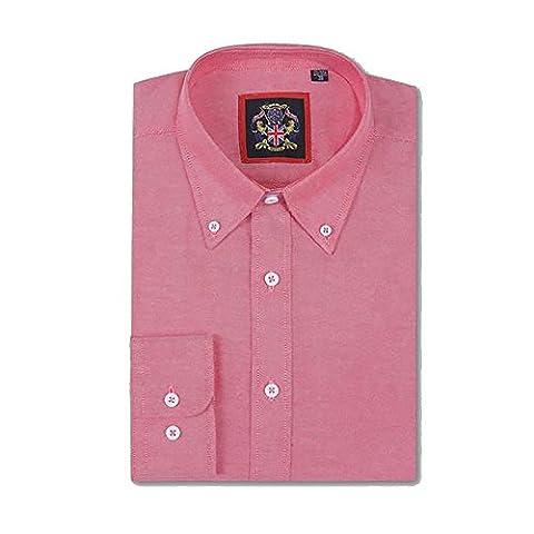 Long Sleeve Shirt Janeo British Apparel,Mens English Oxford Button Down