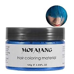 Filfeel Cera Cabello 20 ml Hombres Mujeres desechable Dye lodo Peinado Crema Peinado Colorear Cera