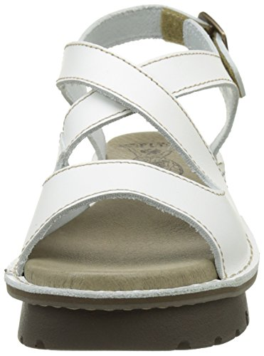 FLY London Damen Kimb456fly Sandalen Elfenbein (off White 002)