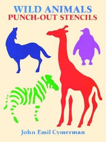 Wild Animals. Punch-out Stencils