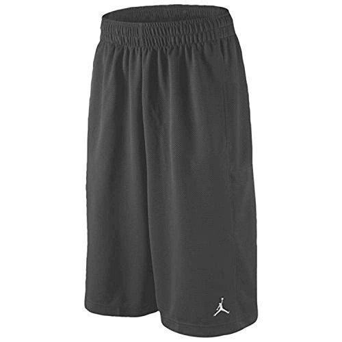 Boys Nike Air Jordan Mesh Athletic Shorts (Große, Dunkelgrau) (Air Jordan Für Große Kinder)