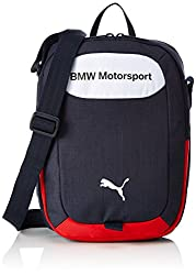 Puma Unisex BMW Motorsport Portable Navy Blue Messanger Bag