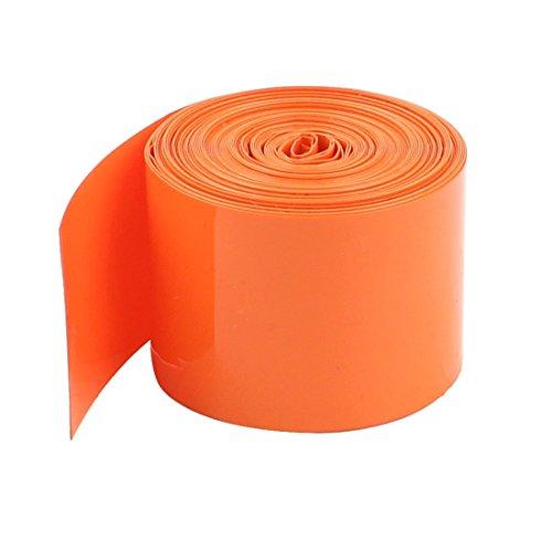 SODIAL(R) 29.5mm PVC Schrumpfschlauch aermel 5m 5m fuer 18650 18500 Batterie (29.5 Ärmel)