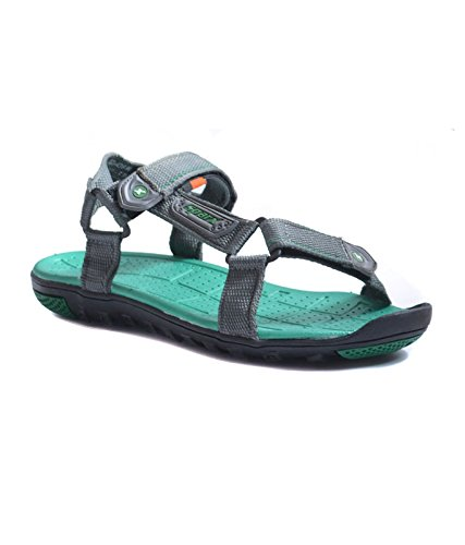 SPARX MEN GREY GREEN SPORTS SANDAL 436 (9)  available at amazon for Rs.787