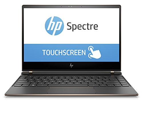 HP Spectre 13-af003ng 33,7 cm (13,3 Zoll Full HD IPS Touchdisplay) Laptop (Intel Core i7-8550U,16GB RAM, 512GB SSD, Intel UHD Graphics, Windows 10 Home) grau/kupfer