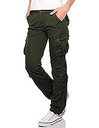 Suchergebnis auf Amazon.de für  cargohosen damen  Bekleidung 559b253d36