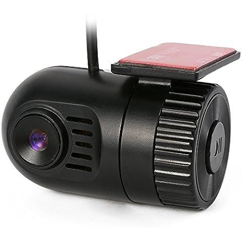 XCSOURCE Mini Cámara Grabadora vídeo DVR Tablero Automóvil Sensor G 1080P HD 140 ° MA358