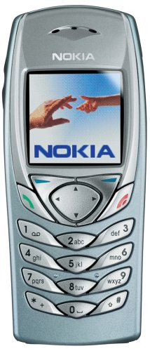 Nokia 6100 Handy Bright Blue