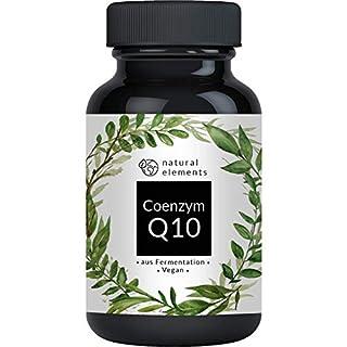 Coenzym Q10-200mg pro Kapsel - Preis-Leistungs-Sieger 2019* - 120 vegane Kapseln - Premium Q10 aus pflanzlicher Fermentation - Laborgeprüft, hochdosiert, vegan & hergestellt in Deutschland