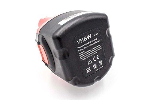 vhbw NiMH batterie 1500mAh (9.6V) pour outil électrique outil tools Spit SDI SDI 6, SDI 9, SDI 96
