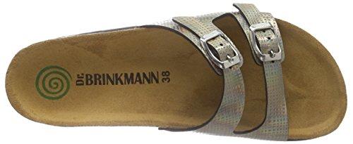Dr. Brinkmann 700918, Mules femme Marron - Marron (bronze)