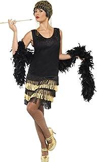 Smiffys Années 1920 Costume Flapper Frangé, Noir, M (B00AZGO2TO) | Amazon Products