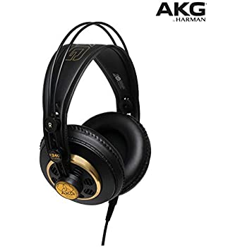 cfbe60854a7 AKG K240 STUDIO Professional Semi-Open, Over-Ear Headphones: Amazon ...