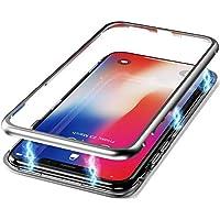 CreWin für iPhone XR Hülle Glas mit Magnetisch Panzerglas 360 Grad Full Body Rückseite Durchsichtig Handyhülle... preisvergleich bei billige-tabletten.eu