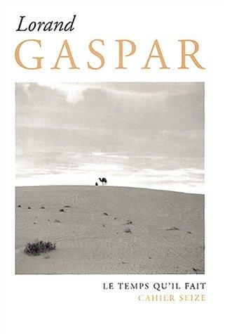Cahier Lorand Gaspar