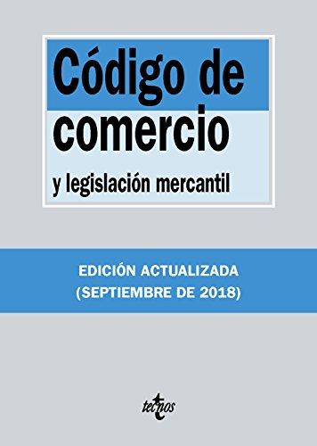 Código de Comercio: y legislación mercantil (Derecho - Biblioteca De Textos Legales)
